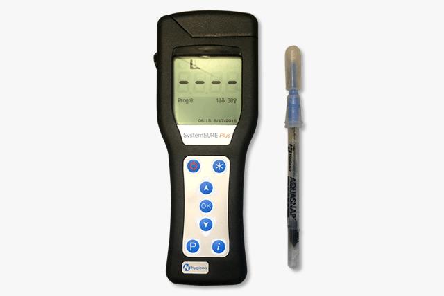[POINT4]ATP測定器による衛生状態の検査ができます(オプション)