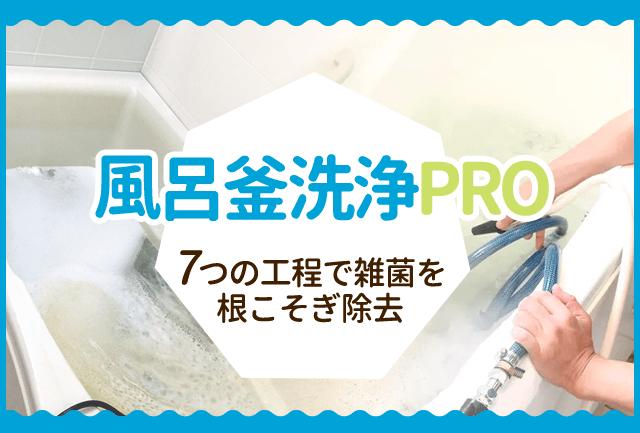 風呂釜清掃PRO