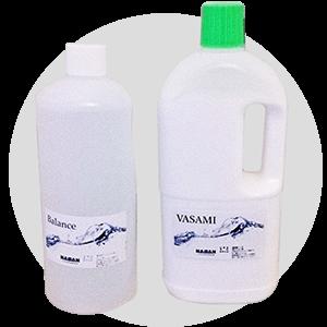 体にやさしい洗剤を使用